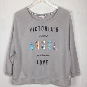 Victoria's Secret angel Metallic sweatshirt Sz XSm